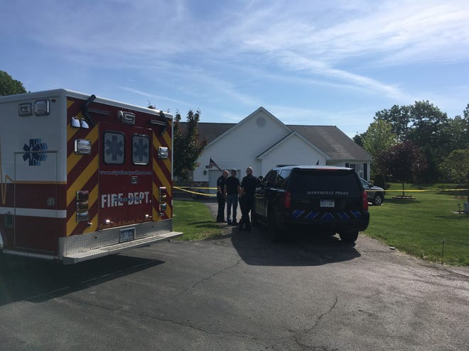 Marysville police are investigating a death on Lighthouse Drive Wednesday morning.