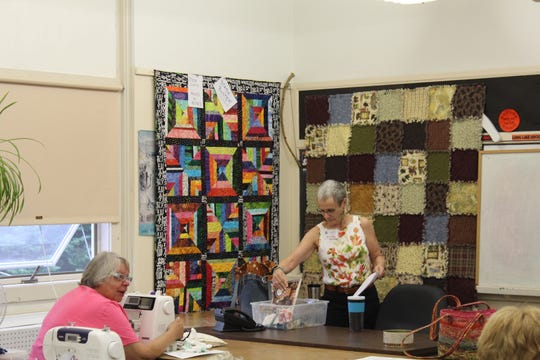 The Adirondack Quilt Camp offers classes in machine quilting, hand-quilting, special projects, basket making, and more.