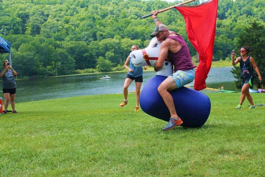 Release your inner child at Club Getaway in Kent, Connecticut, which offers a variety of outdoor programs for adults in a serene setting.