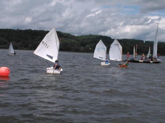 The Sailing School at the Hudson River Maritime Museum in Kingston offers sailing classes for adults.