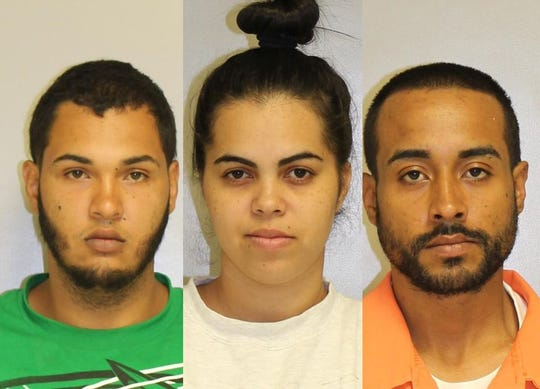 From left: Jesus Sanchez-Rivera,Samileyka Perez and Anthony Velez-Esquilin.