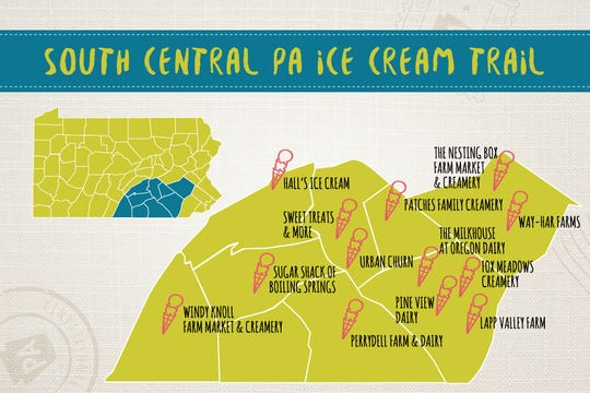South Central PA Ice Cream Trail.