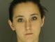 Brianna Stamper, arrested for trespassing.