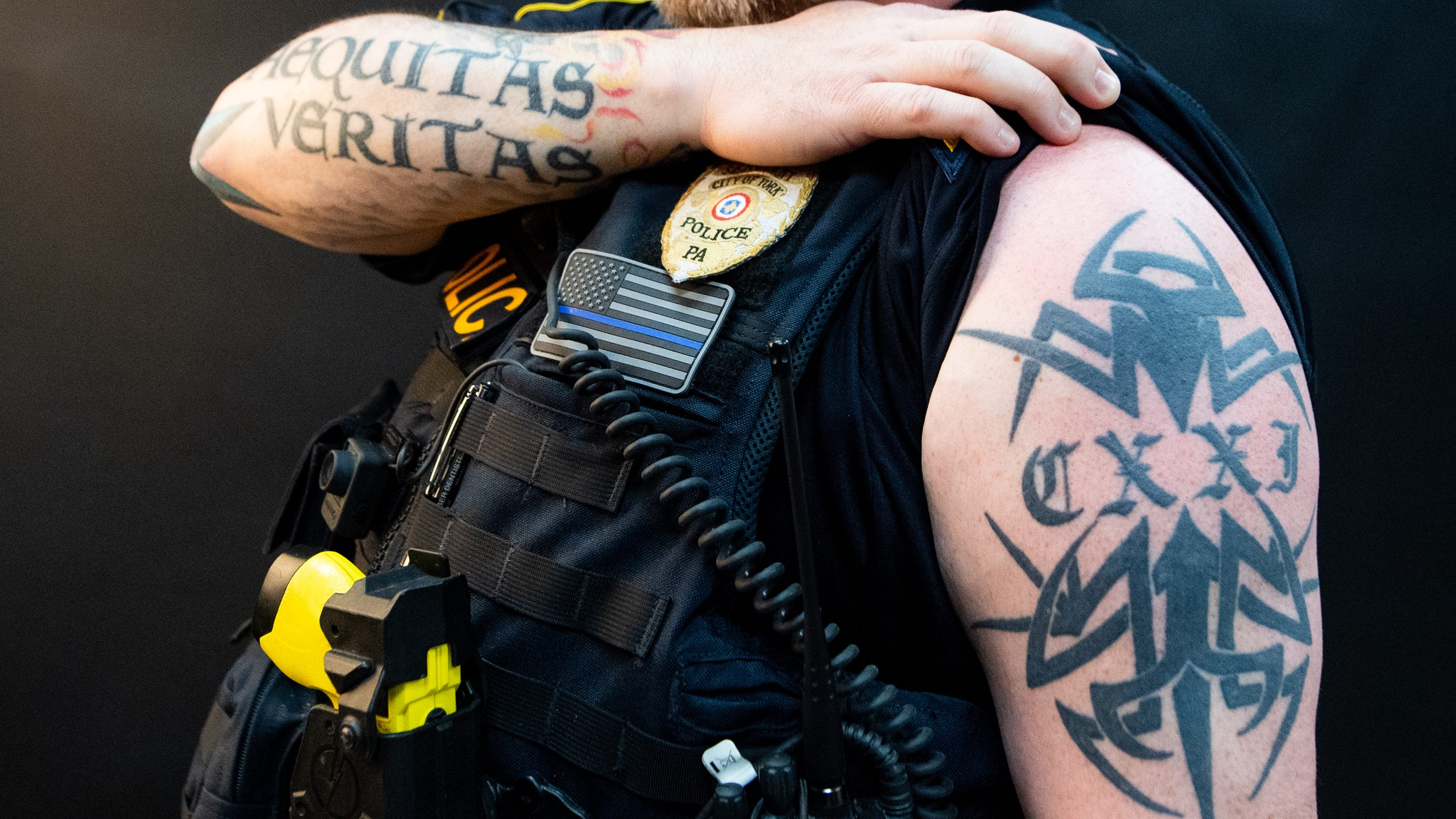 fc044b18e502b Police tattoos: Ink helps officers connect with community they serve