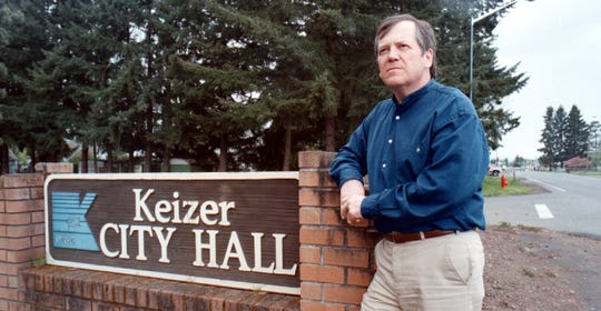 Dennis Koho, mayor of Keizer