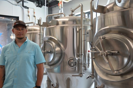 Brick Works Brewmaster Ryan Maloney.