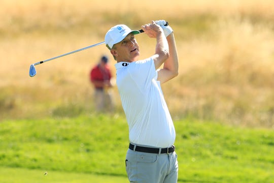 David Toms will play his first major championship in three years when the U.S. Open at Pebble Beach Golf Links begins Thursday in Pebble Beach, California.