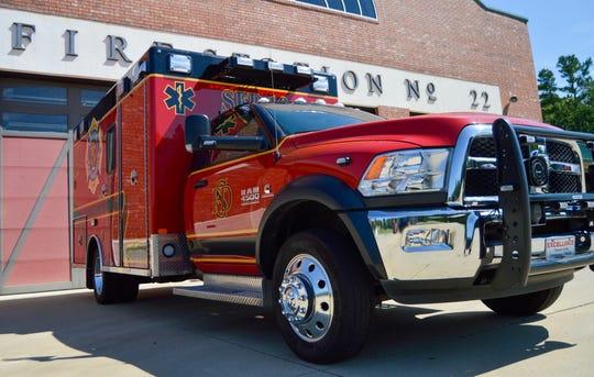 Shreveport Fire Department ambulance