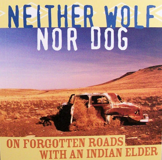 "The cover of the book ""Neither Wolf Nor Dog"" by Kent Nerburn"