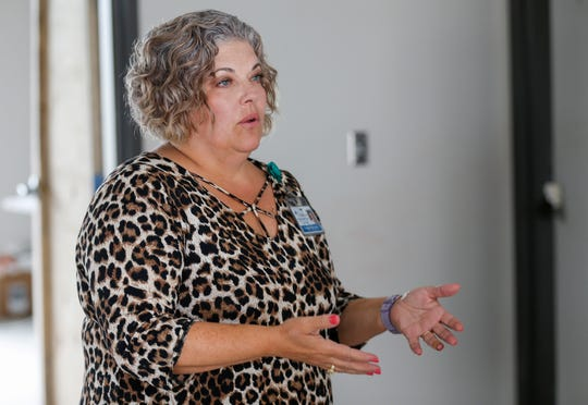 Sonya Hayter, vice president for student affairs, marketing, communications, and development at Cox College, talks about renovations at the school.