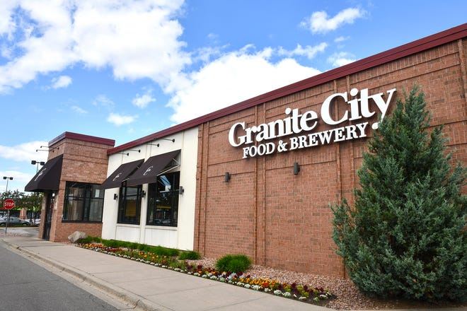 The Granite City Food & Brewery location is pictured Wednesday, June 12, in St. Cloud.
