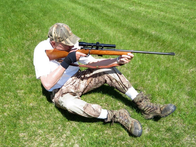 Target shooting and hunting pesky gophers go hand-in-hand when at the cabin.