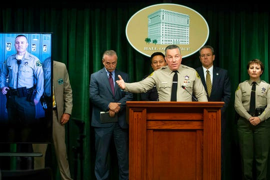 Gun ownership rights groups filed suit against Los Angeles County Sheriff Alex Villanueva for shuttering gun shops during the 2020 coronavirus pandemic.
