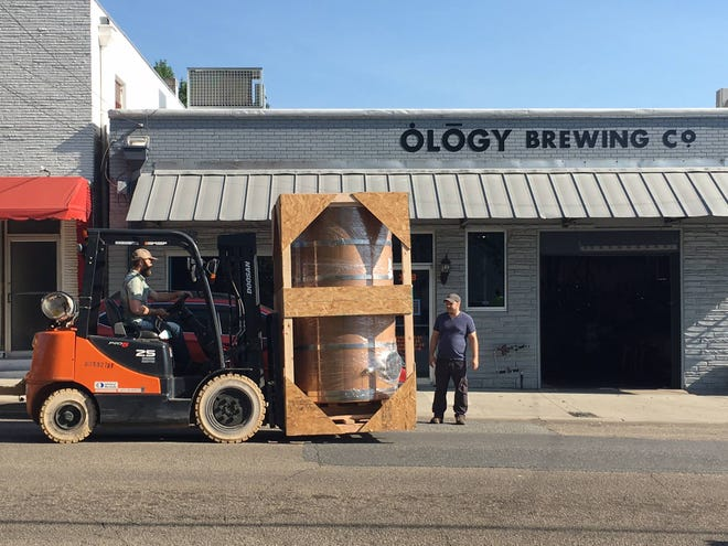Ology will kick off anniversary celebrations on Thursday, June 20, at 4 p.m. with a triple can release. On Friday, it continues with a commemorative glass for sale and the debut of Ology's first-ever Pilsner