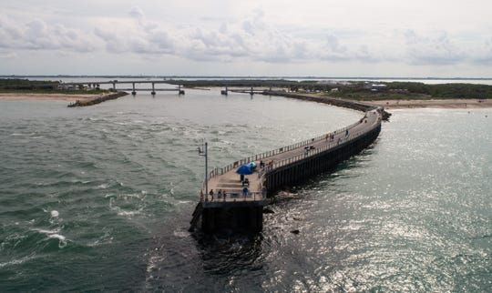 The Sebastian Inlet has a long journey to its present state, seen in an aerial drone photo from June 4, 2019, over Indian River and Brevard counties.