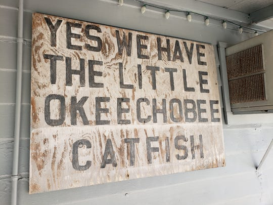 Catfish are caught and sold commercially from Lake Okeechobee.