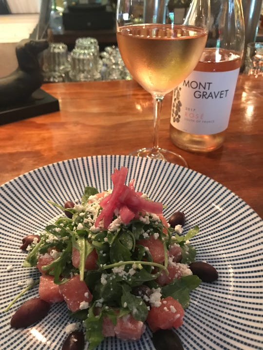 The Blue Star's summer watermelon salad.