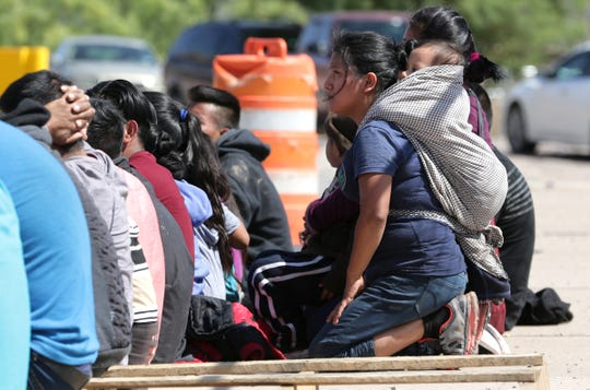 Six unaccompanied minors were among a group of Guatemalans who crossed the river into El Paso on Tuesday, June 11, 2019. Four young sisters were on their way to find their mother in the Boston area.