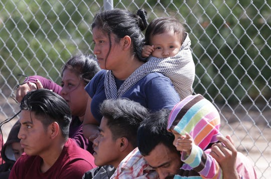 Six unaccompanied minors were among a group of Guatemalans who crossed the river into El Paso recently. Four young sisters were on their way to find their mother in the Boston area.