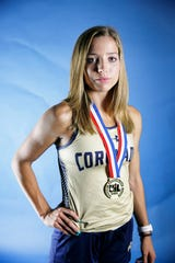 All-City track and field Coronado's Jennelle Jaeger-Darakjy Tuesday, June 11.