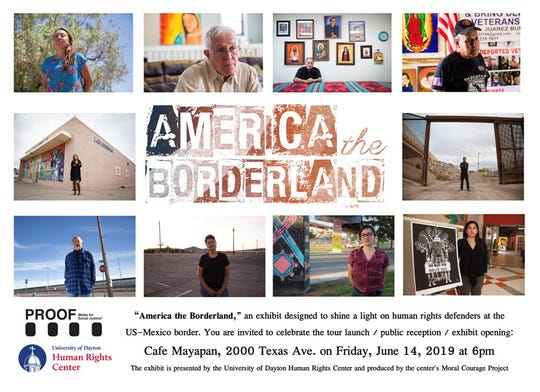 America the Borderland will be on display at La Mujer Obrera June 14 - July 6