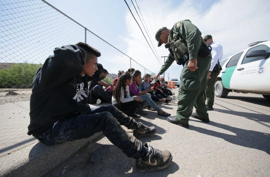 Six unaccompanied minors were among a group of Guatemalans who crossed the river into El Paso in June. Four young sisters were on their way to find their mother in the Boston area.