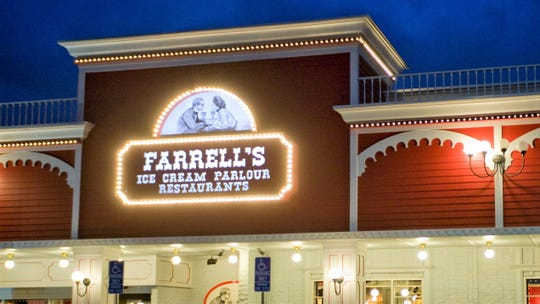 This was the Farrell's in Buena Park, one of the once-legendary chain's final locations.
