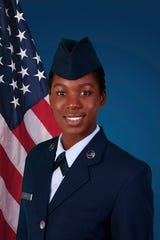 U.S. Air Force Airman 1st Class Aaliyaha C. Davy