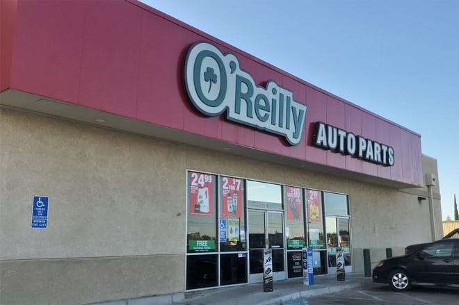 Visalia police were called to O'Reilly Auto Parks on Tuesday, June 12, 2019 for reports of a burglary.