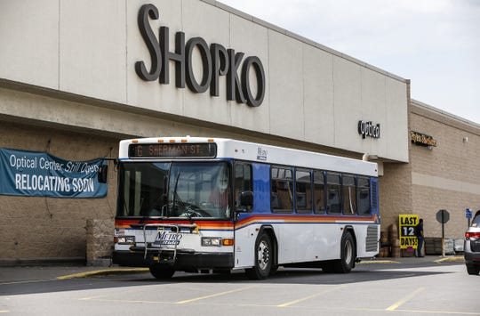 A Metro Ride bus runs pass Shopko store Tuesday, June 11, 2019, in Wausau, Wis. T'xer Zhon Kha/USA TODAY NETWORK-Wisconsin