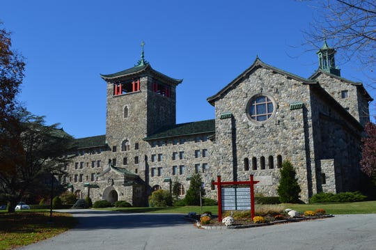 The Maryknoll Fathers and Brothers seminary building in Ossining.