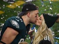 Eagles TE Zach Ertz stands up for wife Julie, scoffs at critics of U.S. Women's World Cup team
