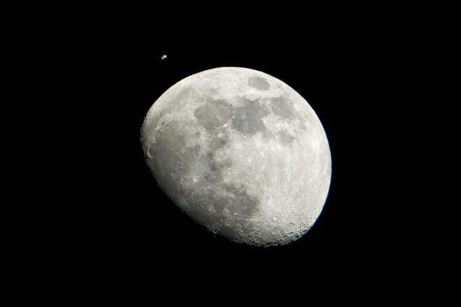 The moon is still the focus of much interest in the coming months with a Chinese rover exploring the far side.