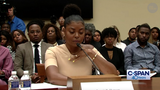 Taraji P. Henson spoke candidly about mental health issues impacting youth in the African American community at a congressional hearing.