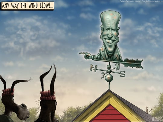 Biden weather vane