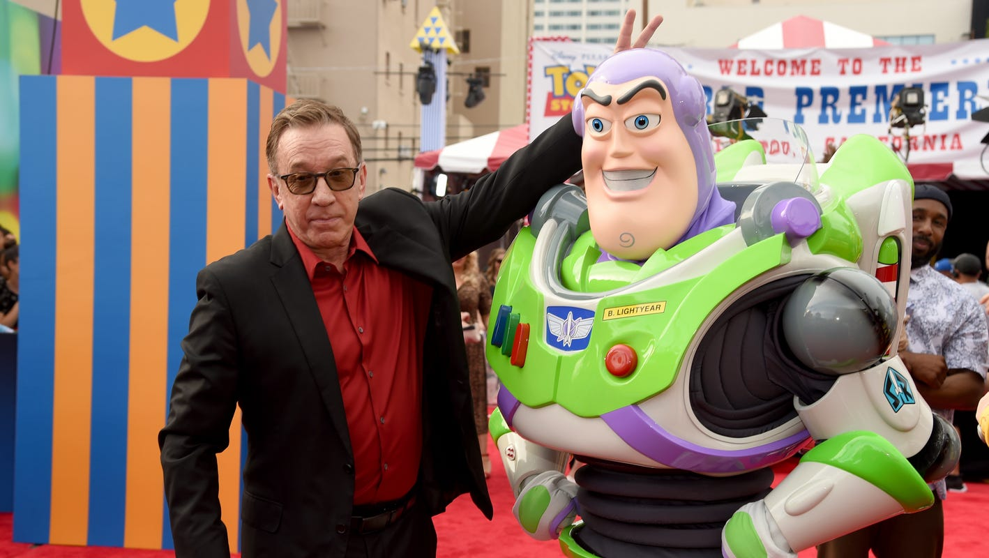 Buzz Lightyear credits Skyline Chili for saving his life. OK, it was Tim Allen, but still.