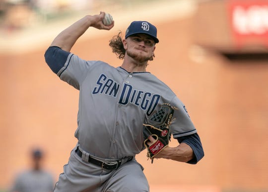 Padres rookie Chris Paddack has struck out 9.9 batters per nine innings in his first 12 major league starts.