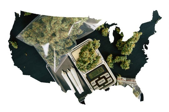The next states that are likely to legalize marijuana