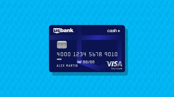 U.S. Bank Cash+ Visa Signature