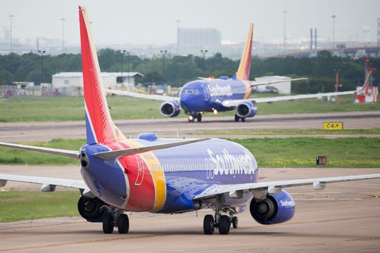 "To paraphrase ""The Lion King,"" it's the circle of airport life, as one Southwest Airlines Boeing 737 taxis as another lands at Dallas Love Field. Click forward as the airline and photographer Jeremy Dwyer-Lindgren show you a day in the life of Southwest crew members at the historic Texas airport."