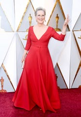 Meryl Streep attends the 90th Annual Academy Awards at Hollywood & Highland Center on March 4, 2018 in Hollywood, California.