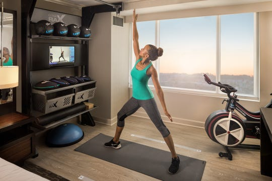 Hilton's Five Feet to Fitness program