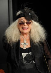 Sylvia Miles at the premiere of 'Wall Street: Money Never Sleeps' in 2010.