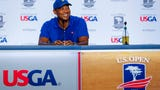 USA TODAY Sports' Steve DiMeglio discusses how Tiger Woods is continuing U.S. Open prep without playing a practice round Tuesday.