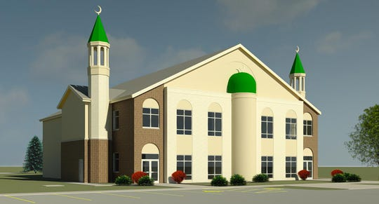 The Fox Valley Islamic Society proposes to build a new mosque on the south side of Neenah.