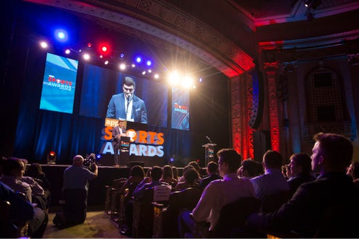 The Asbury Park Press  Sports Awards honor the top Shore Conference athletes from this past year with New York Jets quarterback Sam Darnold as guest speaker.