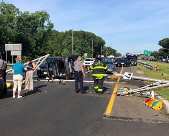 Crash on Route 138 in Wall June 12, 2019