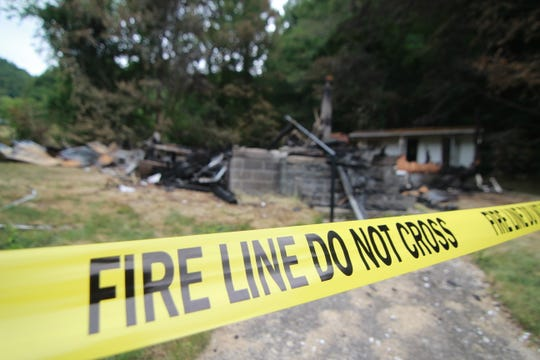 Though fire crews responded to the the Grapevine Church of God within 20 minutes of the first 911 call, the building deep in the mountains of Madison County burned completely to the ground.