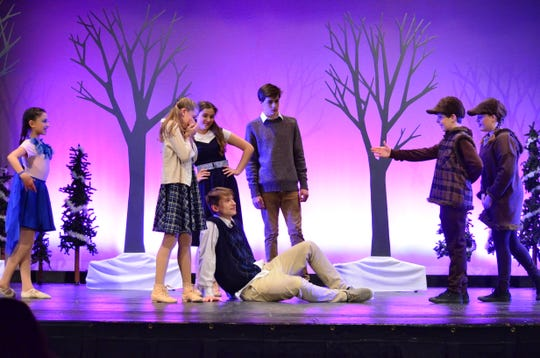"""The Vermont Youth Dancers perform """"Turn to Stone, A Journey to Narnia"""" June 22-23 in South Burlington."""