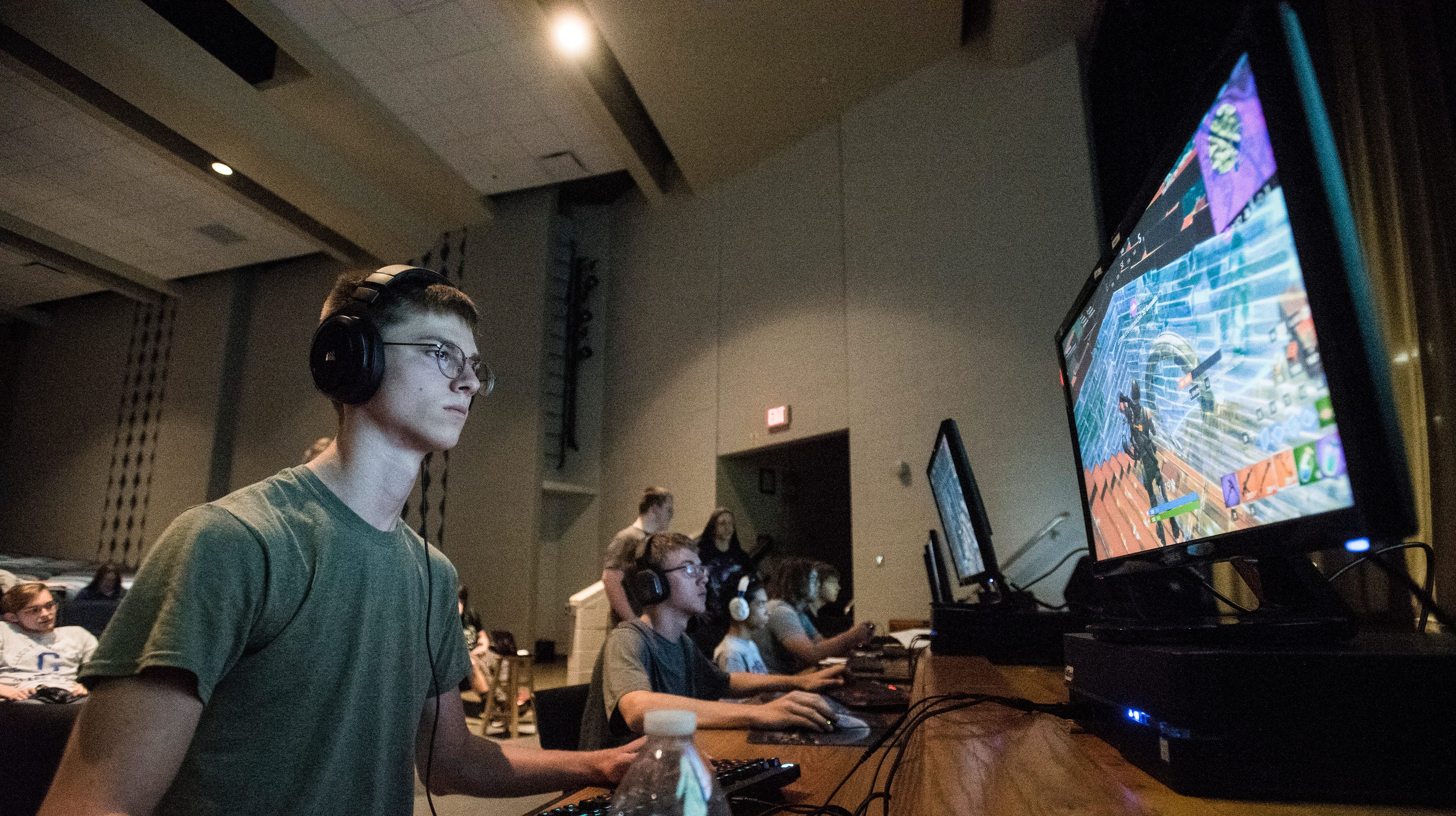 Local schools compete in the area's first esports tournament